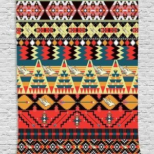 Tapestry Native Patterns Wall Hanging Backdrop